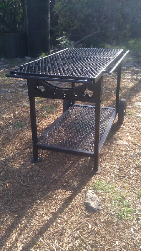 This Prep Table Matches The Barbecue Pit. If You Want Extra Cutting And  Prep Space This Table Is A Good Choice. Its Solid And Made From The Barbecue  Pit ...