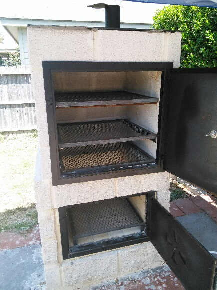 Matt\'s BBQ Pits, LLC and River Cottage Tables - Outdoor Kitchen Pit ...